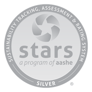AASHE STARS silver certification mark